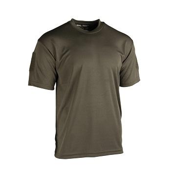 Mil-tec - Taktisk Hurtigtørrende T-shirt (Oliven)