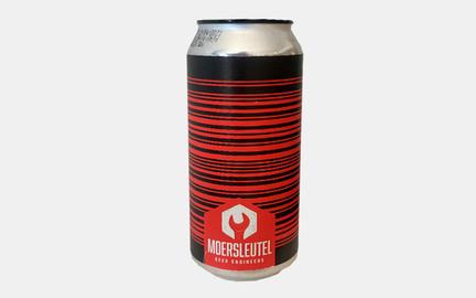 Barcode Black & Red - Barrel Aged Imperial Stout fra Moersleutel