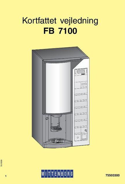 Dansk kortfattet vejledning i bla. rengøring af din Wittenborg FB7100 med sigma brygger