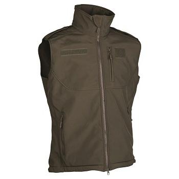 Mil-tec - Softshell Vest (Oliven)