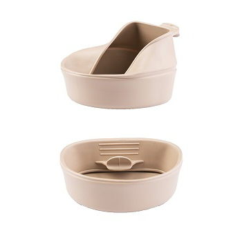 Wildo - Fold-a-cup 600 ml. Khaki