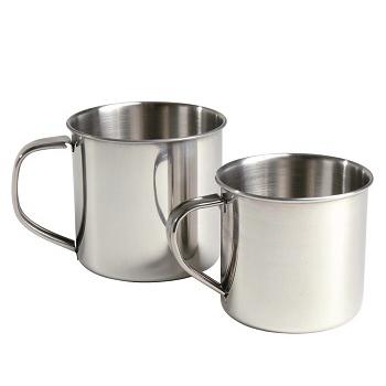 Mil-tec - Krus Rustfri Stål 300 ml.