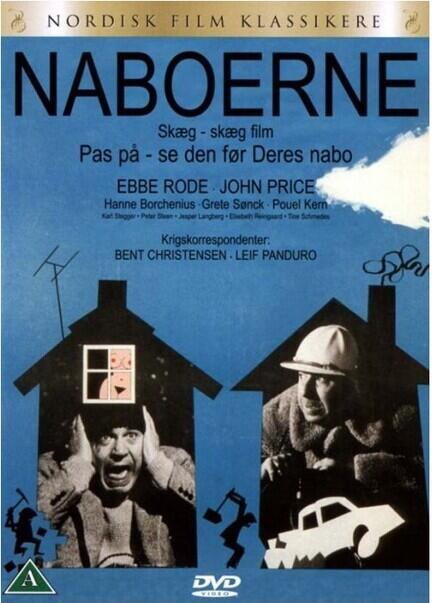 Naboerne, DVD,