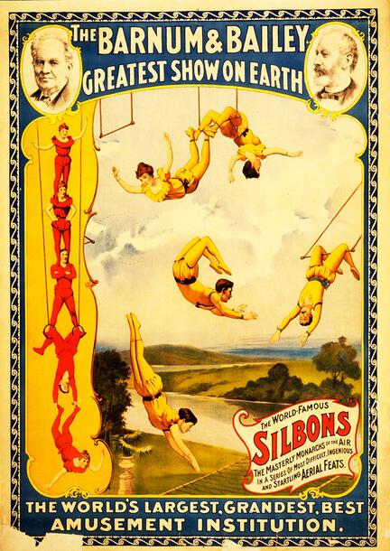 fotomester circus cirkus plakat barnum and bailey