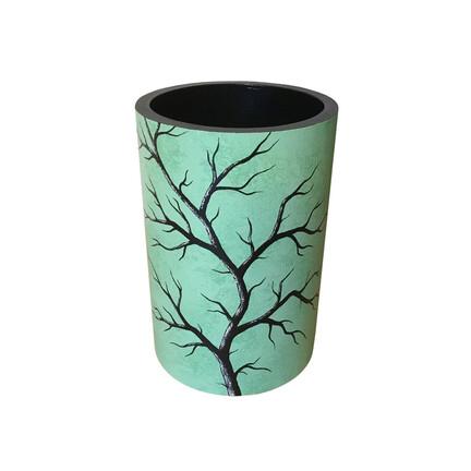 lysegrøn vase