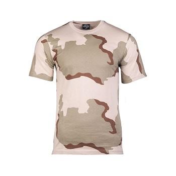 Mil-tec - Camo T-shirt (3-farvet)