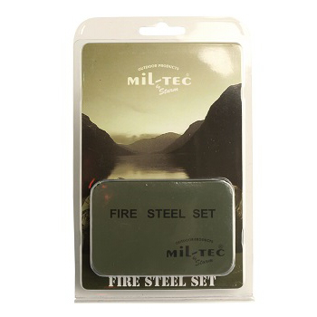 Mil-tec - Firekit med Boks