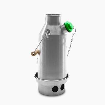 Kelly Kettle - Trekker 0,6 liter (rustfri stål)