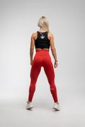 Stony Sportswear, Deadlift, Tights Sømløse Rød 3