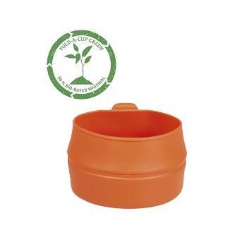 Wildo - Fold-a-cup 50% Bio 200 ml. Orange