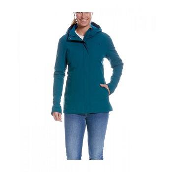 Tatonka - Jons W's Hooded Jacket teal green