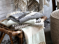 Hammam Håndklæde m. mønster. Éternel