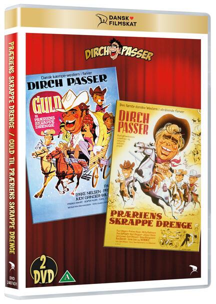 Præriens Skrappe Drenge, Guld til præriens skrappe drenge, DVD Film, Dansk Filmskat