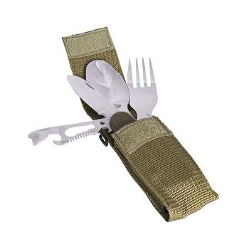 Mil-tec - Bestiksæt med Lommekniv