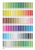 colour variation pencils blyanter plakat kunst poster art print Birger Bromann