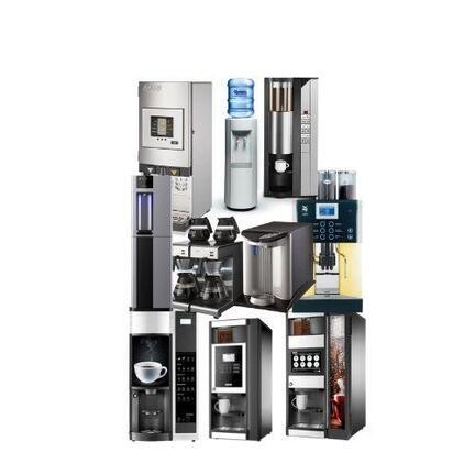 Køb af service og reparation af kaffeautomat eller vanddispenser