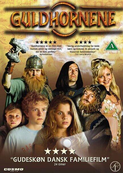 Guldhornene, DVD, Film