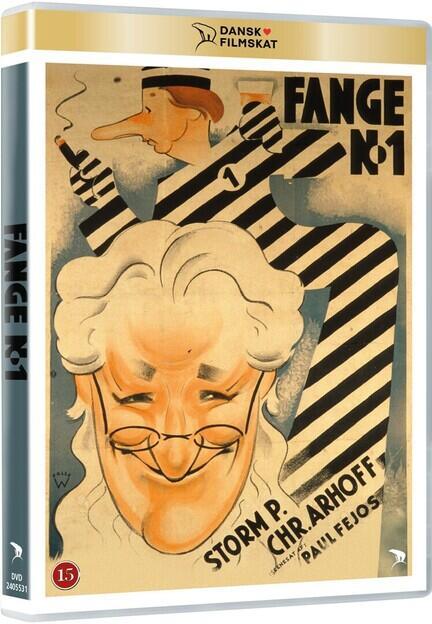Fange Nr. 1, Dansk Filmskat, DVD, Movie
