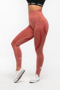 Stony Sportswear, Deadlift, Tights Sømløse Koral Rød