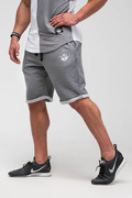 Stony Sportswear, Deadlift Gym Shorts i Mørke Grå 2