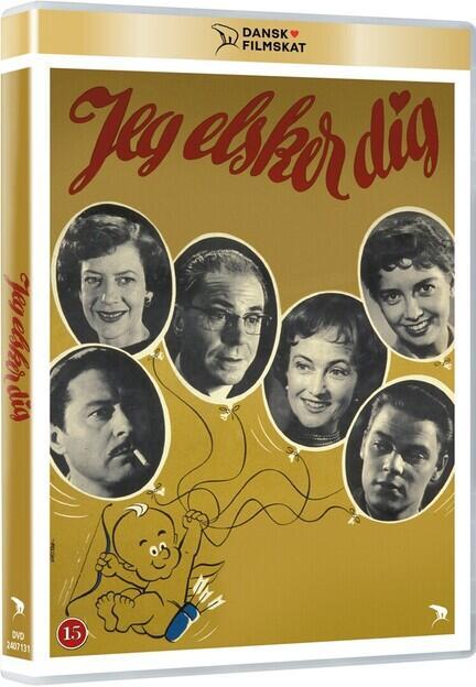 Jeg elsker dig, Dansk Filmskat, DVD, Movie