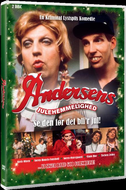 Andersens Julehemmelighed, Julekalender, DVD