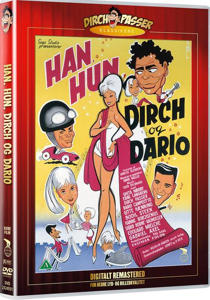 Han hun Dirch og Dario, DVD, Movie,