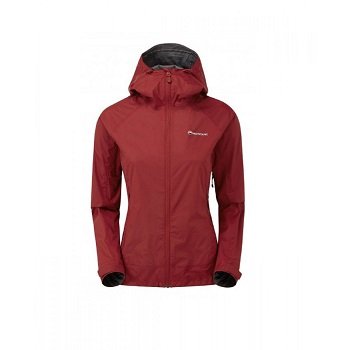 Montane - Fem Atomic Jacket (Tibetan Red)