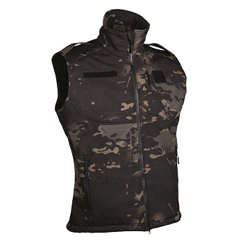 Mil-tec - Softshell Vest (Multicam Sort)