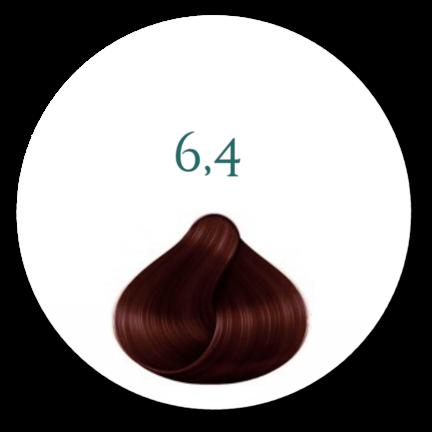 Hårfarve 6.4 Dark Copper Blonde-Hårfarve 6.4 Mørk Kopper Blond