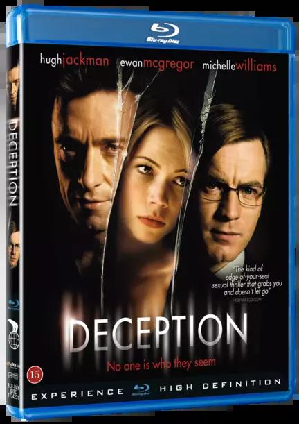 Deception, Bluray, Movie