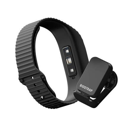 Biostrap Total Health, wristband sensor and shoepod