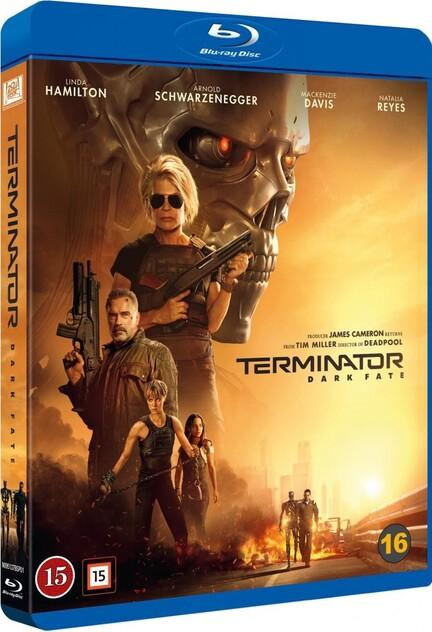 Terminator, Terminator 6, Dark Fate, Bluray, Movie