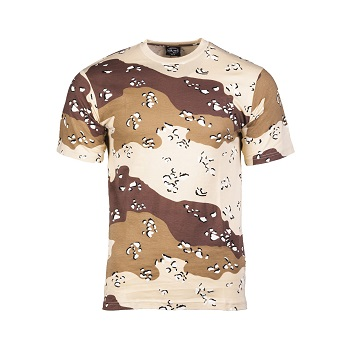 Mil-tec - Camo T-shirt (6-farvet)