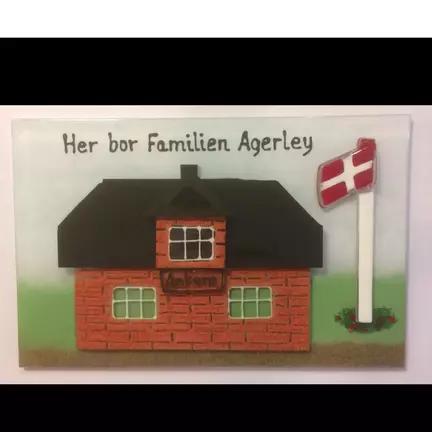 Navneskilt  til dit hus