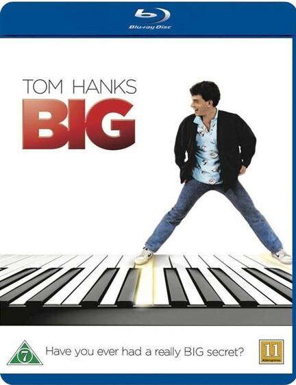 Big, Tom Hanks, Bluray, Movie