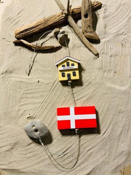 Flag Skagen gul