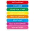 7+1 Beauty Maske Designet til at behandle huden. Masken CE Godkendt. lysterapi, beautys, ledlys terapi
