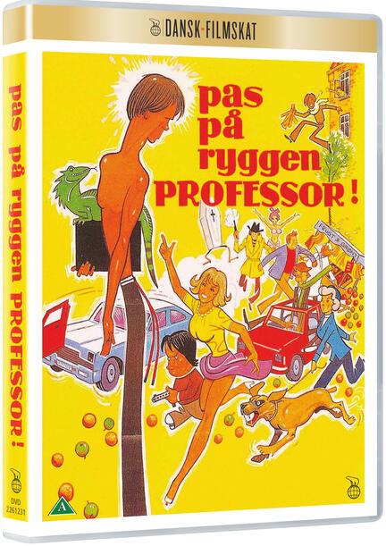 Pas på ryggen professor, Dansk Filmskat, DVD, Film, Movie