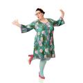 Lækre jerseykjoler syes på bestilling efter dine mål, kjoler til plussize kvinder, og damer i store størrelser.