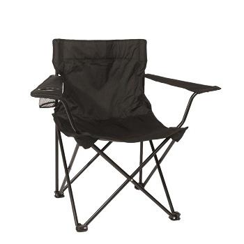 Mil-tec - Relax Campingstol (Sort)