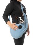 hundehutte, bæretaske, bjeff, hund i tog, red en hund, griseøre