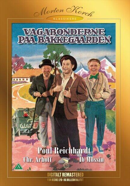 Vagabonderne på Bakkegaarden, Bakkegården, DVD