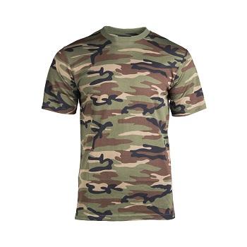 Mil-tec - Camo T-shirt (Woodland)