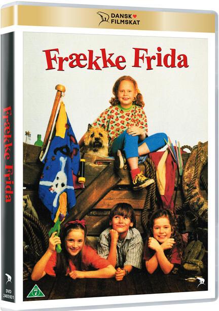 Frække Frida, DVD, Movie, Dansk Filmskat