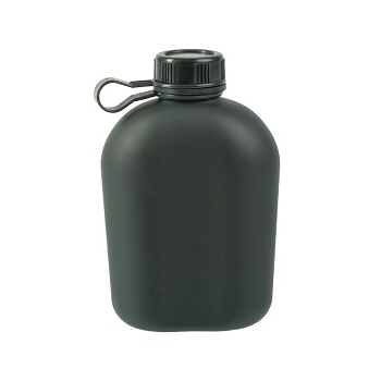 Mil-tec - Army Feltflaske i Aluminium 950 ml.
