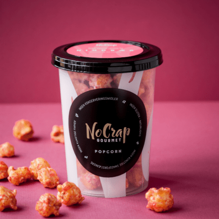 Nocrap popcorn hindbær