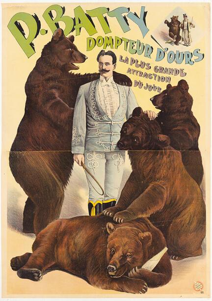 fotomester circus cirkus plakat batty bears