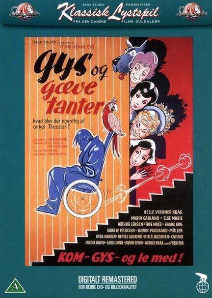 Gys og gæve tanter, DVD, Movie
