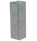 Læbestift box sølv glimmer mat